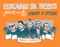flyer for Festa del raccolto