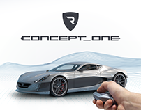 Rimac Automobili Concept_One — hypercar interfaces