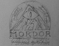 Banner sketches of countries & realms of Middle-Earth