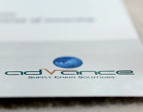 Brochure and Folder design - Advance SCS