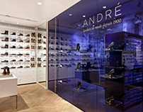 ANDRÉ, stores & branding