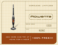 Rowenta, Cordless. Limitless