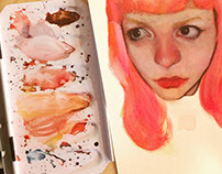 Watercolor Portraits
