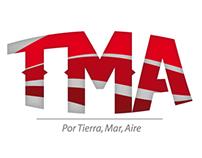 Corporate Branding: TMA, Por Tierra, Mar, Aire