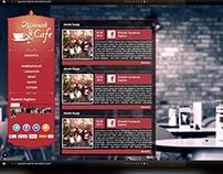 Ispanak Cafe Website