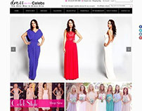 A celebrity inspired fashion Ecommerce Store