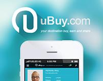 iOS App concept - User account Profile