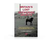Britain's Lost Breweries and Beers - Book design