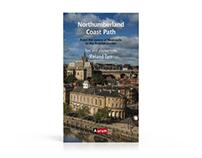 Northumberland Coastal Path - Illustrated book design