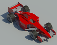 Formula 1 Racing Car Revit Family
