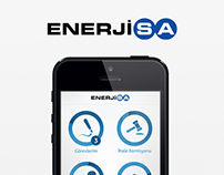 Enerjisa Mobile App Design