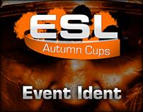 ESL Autumn Cup 2013 Event Ident