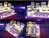 Souk Waqef stage design