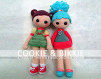 Amigurumi Kids: Cookie, Bikkie & the Minion Boy