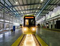 Manchester Metrolink Maintenance Depot