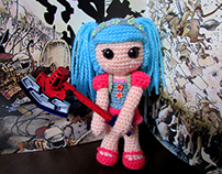 The Hit-Girl Amigurumi