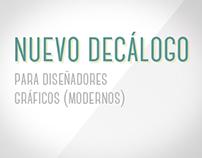 Decálogo para Diseñadores Gráficos (modernos)