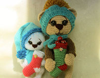 Amigurumi Holiday Bears