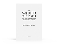 The Sacred History - Text design