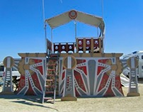 Steampunk Airship Outpost