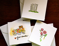 MINI ILLUSTRATED NOTECARDS
