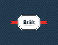 Blue Note | Caderno Azul