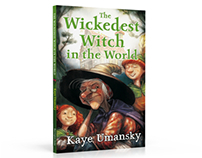The Wickedest Witch in the World - Cover design