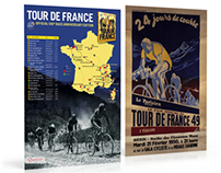 Tour de France 2013 poster - Marketing material