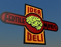 Fertile Minds Idea Deli Sign