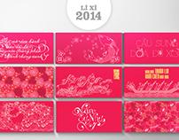 Li xi 2014 - Lucky money bag