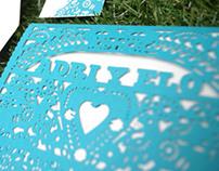 Invitacion boda Adri y Elo