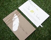 Invitación boda Miroslava & Cesar