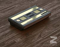 Mattel Intellivision 3D model and render