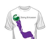 Sony Ericsson Promotional Tshirt