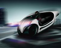 Concept - Moto policial para 2050