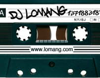 DJ Lomang: Professional Identity, Business Card Set