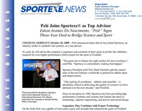 Pele Joins Sportexe as Top Advisor (Press Release)