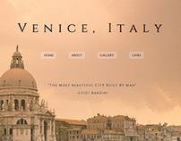 Venice, Italy Travel Website