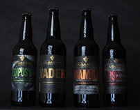 Gilgamesh Beer Bottle Labels