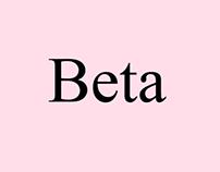Beta Poster Design