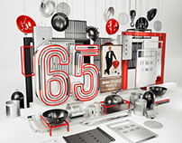 Weber 65 anniversary