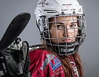 Studio Portaits - Ice Hockey Professional