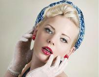 Pin up girl: model Agata