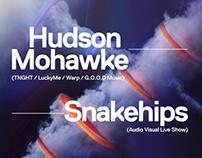 Flirtini x Hudson Mohawke / Snakehips Poster