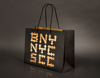Jay Z x Barneys Holiday Shopping Bag