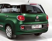 FIAT 500 L Advertisement