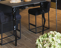 The Kitchen Table Legs In Order for INRE Design