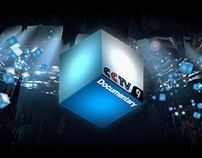 CCTV9 Documentary Channel / Ice Cave / Branding ID's
