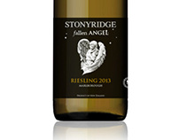 Stonyridge Fallen Angel wine labels