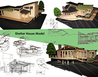 Shelter House (1st year winning project)